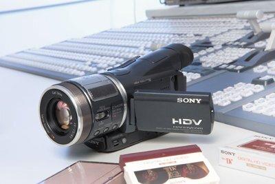 Hyr en HDV Kamera