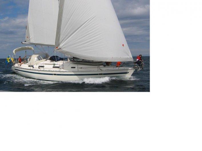 41 fot segelbåt