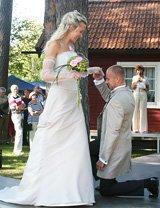 Hyr Bröllopsklänning