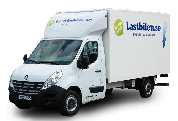 lastbilen.se Uthyrning - Lätt lastbil med bakgavellyft