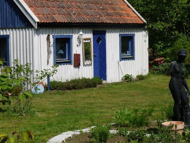 En underbar grekisk stuga uthyres i Skåne