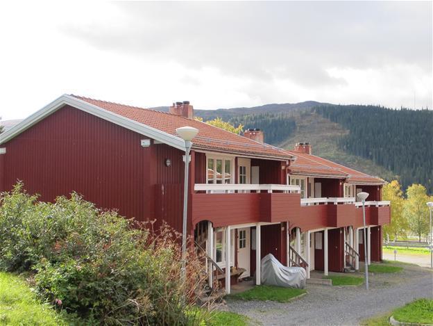 Central lägenhet med lugnt läge i Åre centrum