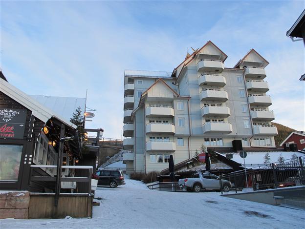 Boende i fjällen på Torget i Åre bredvid Bergbanan