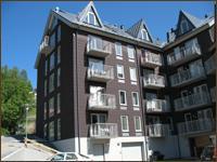 Lägenheter i nybyggt hus nära lift i centrala Åre
