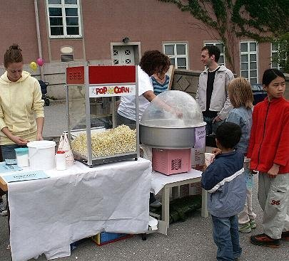 Uthyrning Popcornmaskin och sockervaddsmaskin