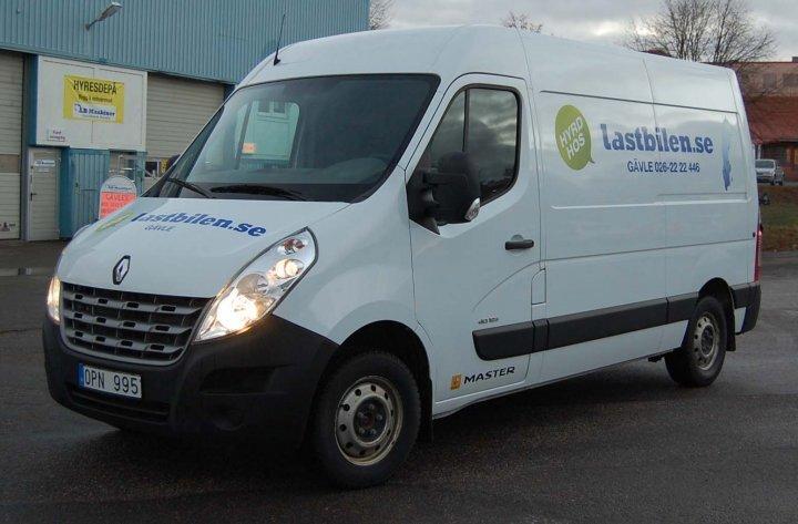 Hyr 10 kubik skåpbil / lastbil i Jönköping
