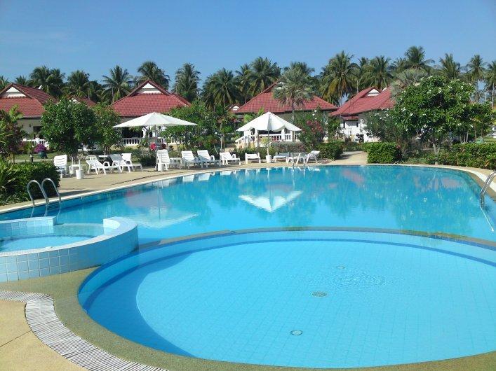 Villa i underbart lugn miljö i Ban Huay Yang, Thailand
