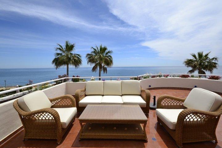 Nära hav och golf (self catering, fri WIFI) Costa del Sol-Estepona