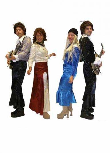 Hyr Dräkt för Maskerad - Maskeraddräkten ABBA