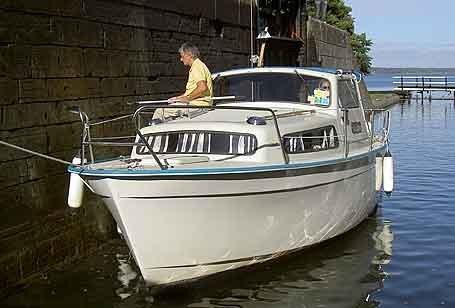 Hyra Båt på Göta Kanal - Albin 25