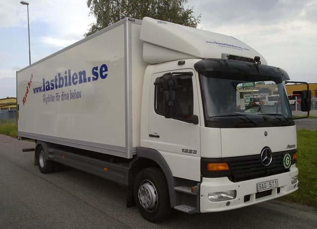 lastbilen.se Uthyrning - Mercedes Atego uthyres till bra pris