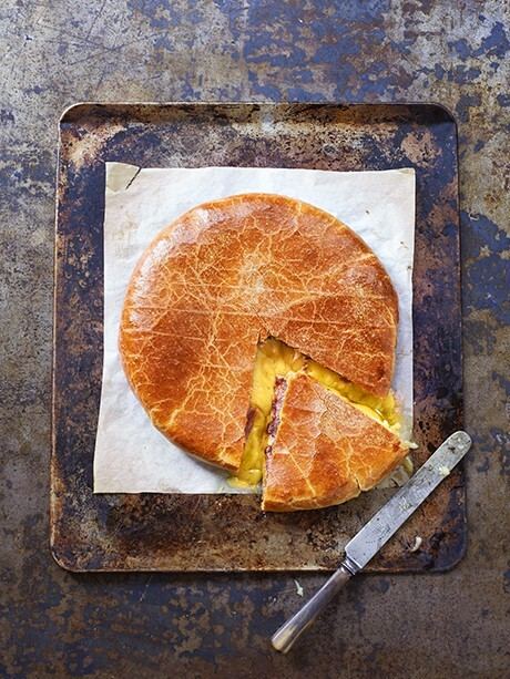 BAKED SOMERSET BRIE BY PAUL HOLLYWOOD