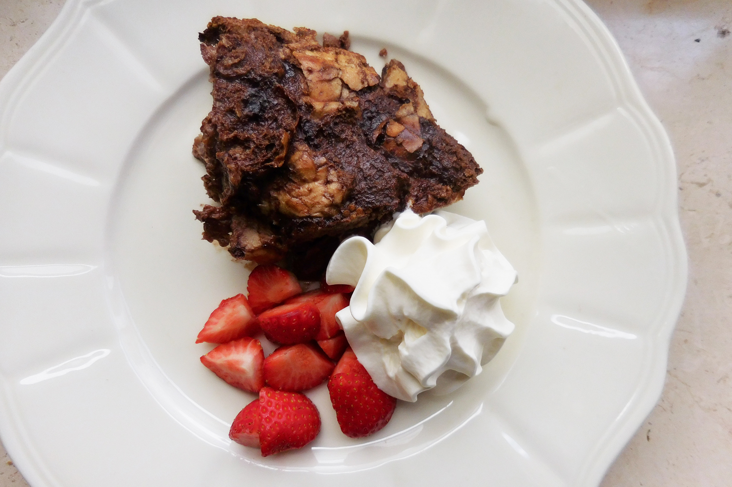 (Recipe) Schoko-Bread-Pudding