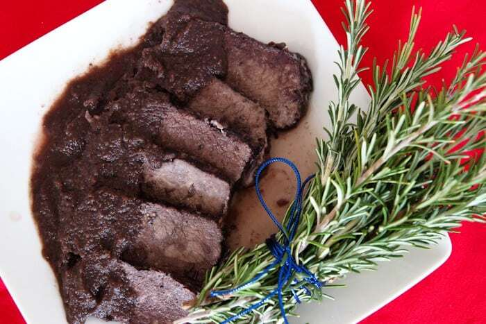 Beef Roast Simmered In Red Wine (Brasato Al Barolo)
