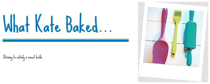 Meet The Blogger | What Kate Baked