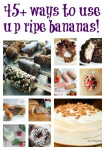45 Things To Do With Ripe Bananas