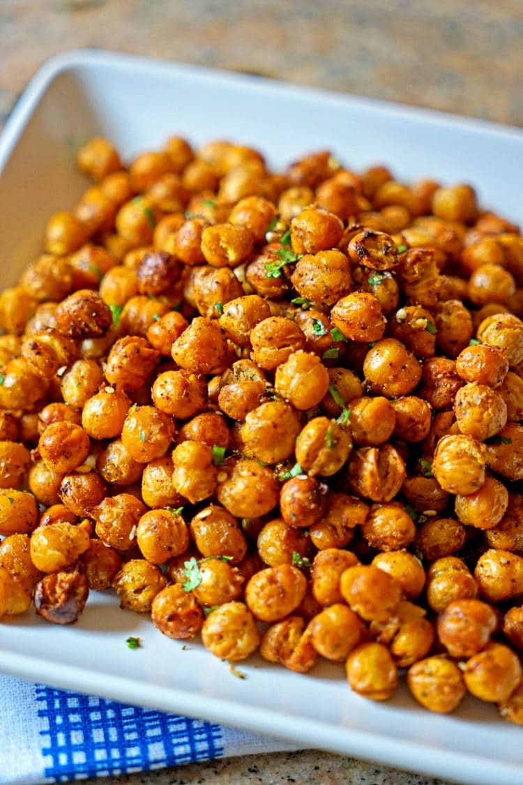 Turkish Roasted Chickpeas