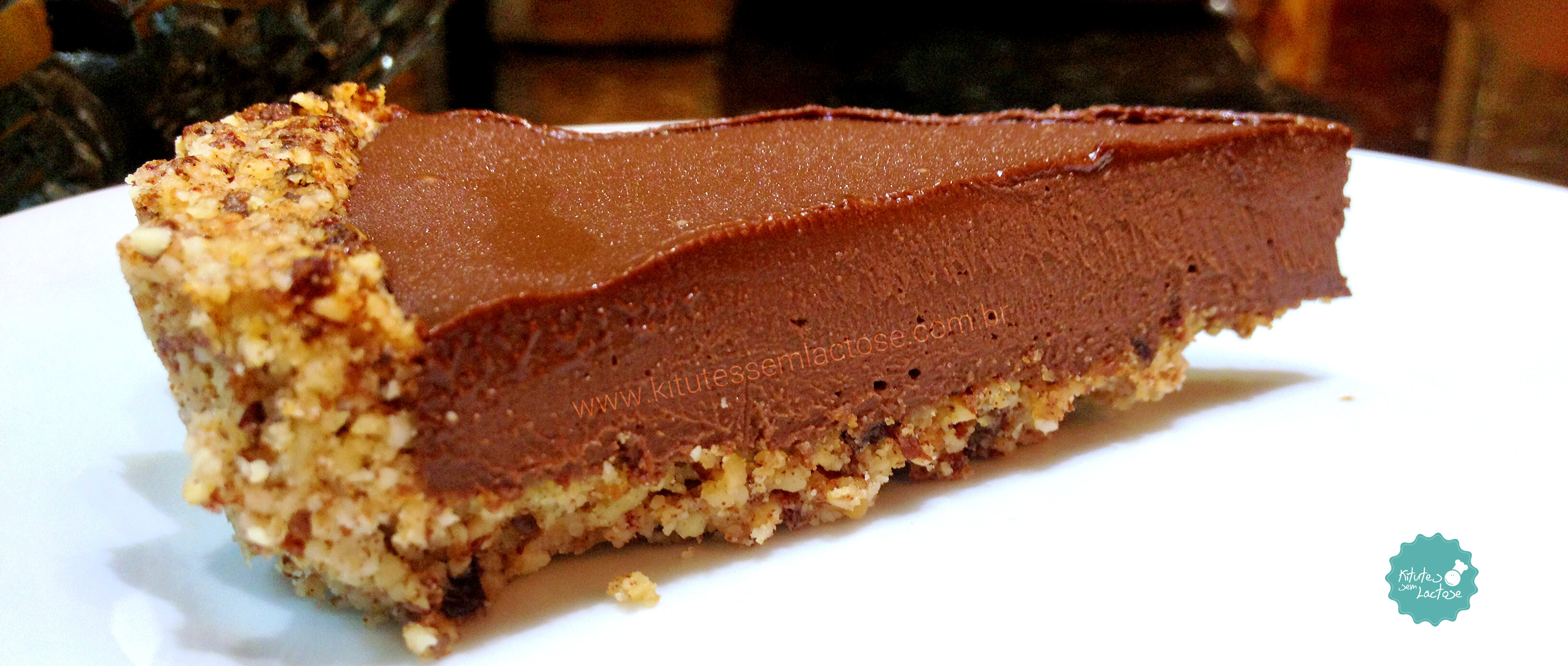 Torta funcional de chocolate (Vegana – low carb)
