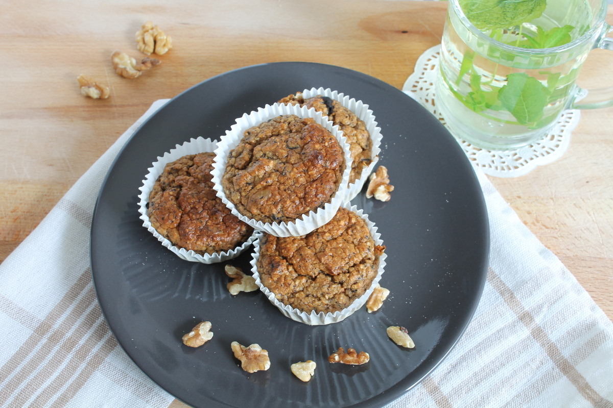 Lekkere havermout muffins
