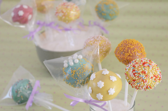 Cake Pops Nutella