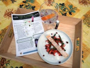 Gin Tonic Foodpairing – Port of Dragons 100 % Floral