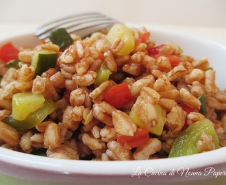 Ricette di cuocere farro microonde for Microonde ricette