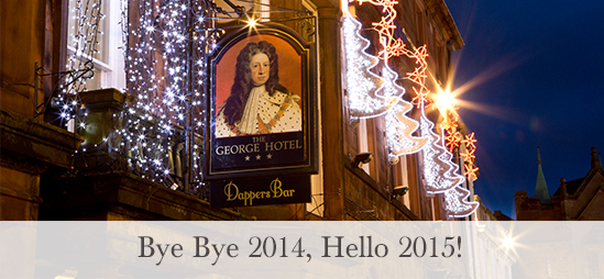 Ring out the old year & welcome in the new…