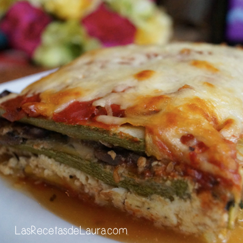 LASAGNA VEGETARIANA Y LIGHT