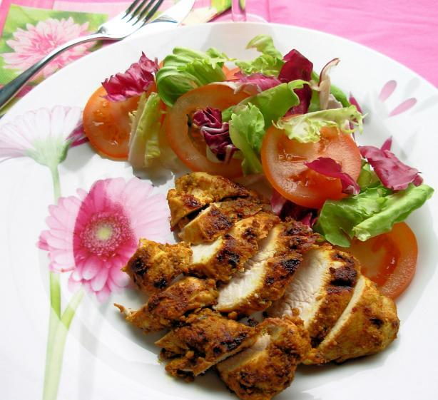 Fast Days and Feast Days: 5:2 Diet Recipe – Herb and Spice Crusted Baked Chicken Breasts (180 calories)