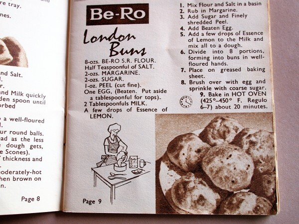 quick and easy for currant buns
