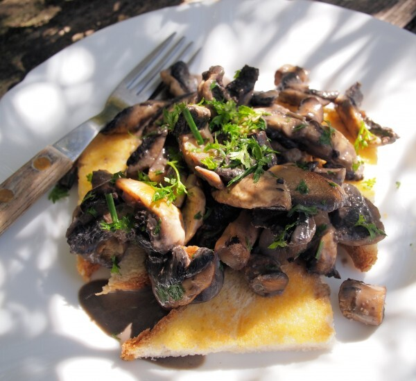 Weekly Meal Plan and a New 5:2 Diet Recipe for Fast Days – Creamy Garlic Mushrooms on Toast (190 Calories)