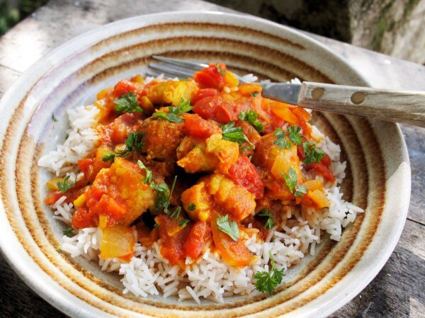 Celebrate National Curry Week with my Easy Low-Fat Monkfish Curry Recipe