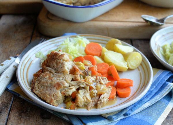 oven baked suet pastry