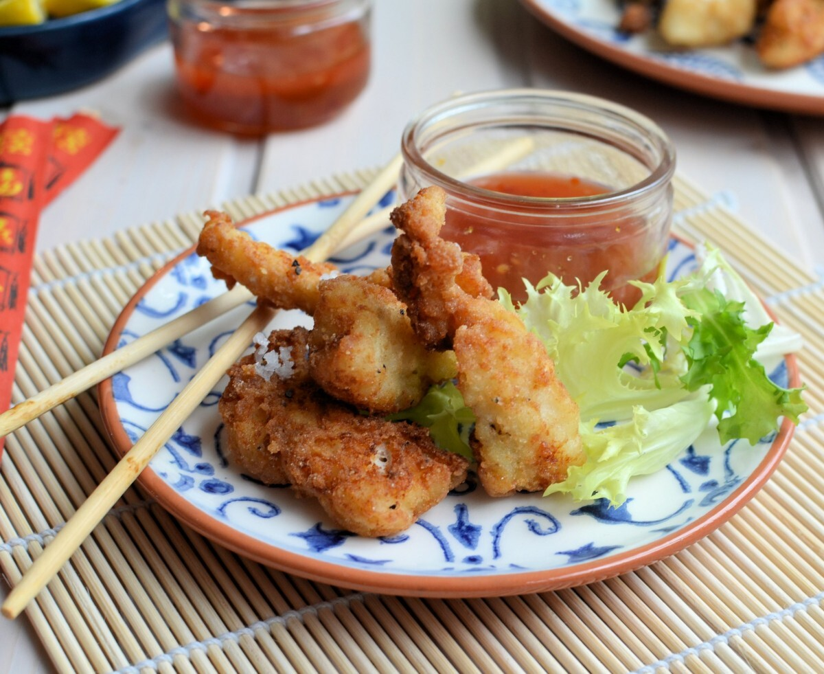Scottish Fish with an Asian Twist: Salt & Pepper Fish Goujons