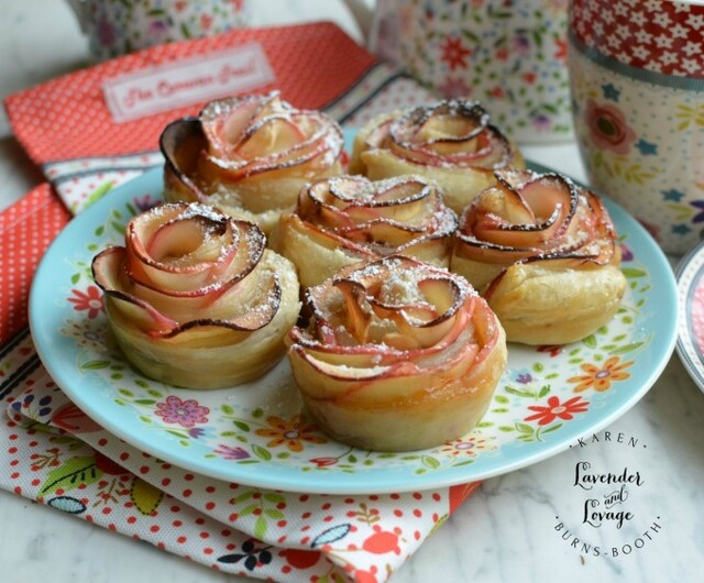 Apple Rose Tarts for Mother's Day - Recipe from myTaste.co.za