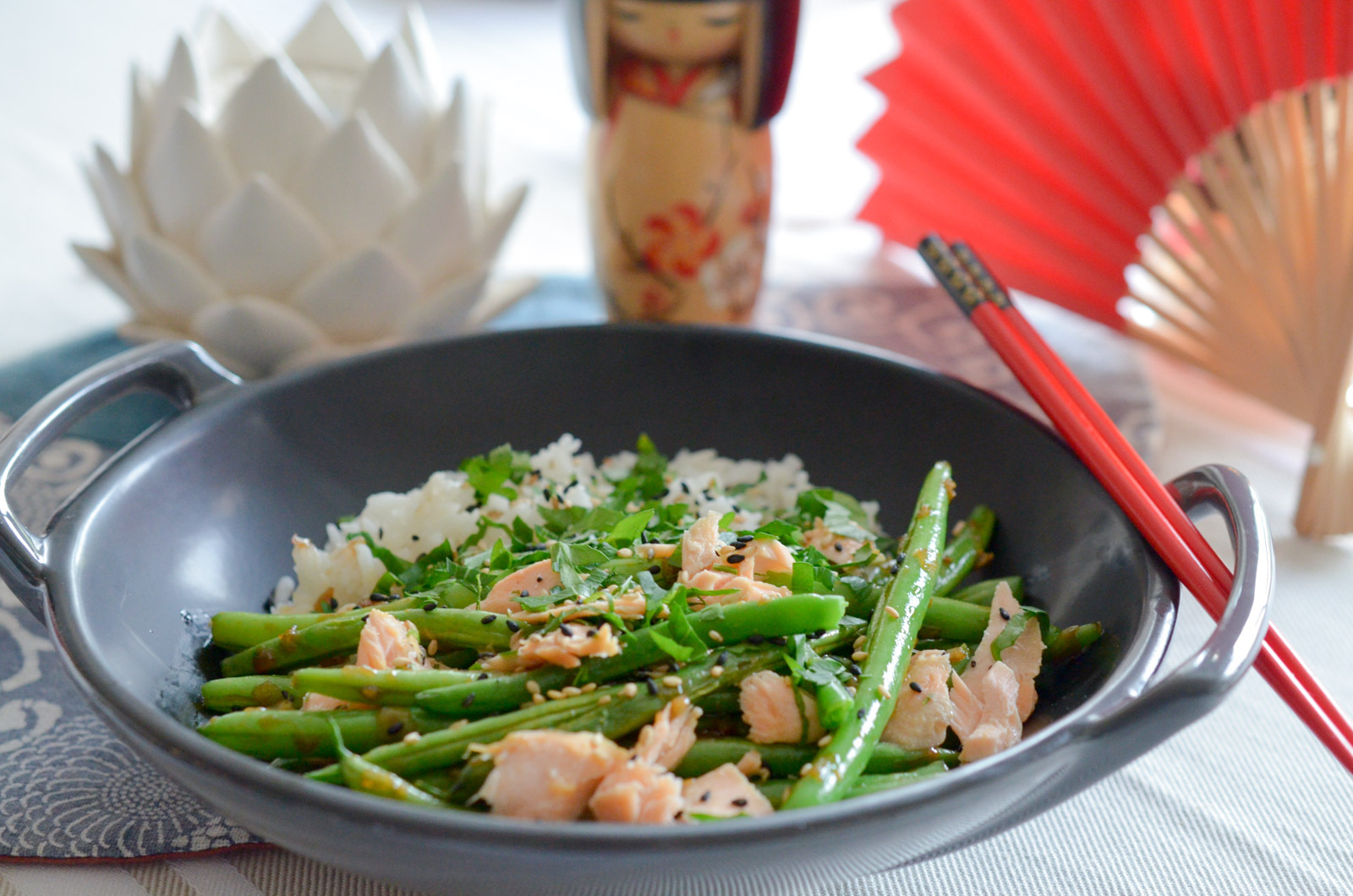 Haricots verts Asian Style
