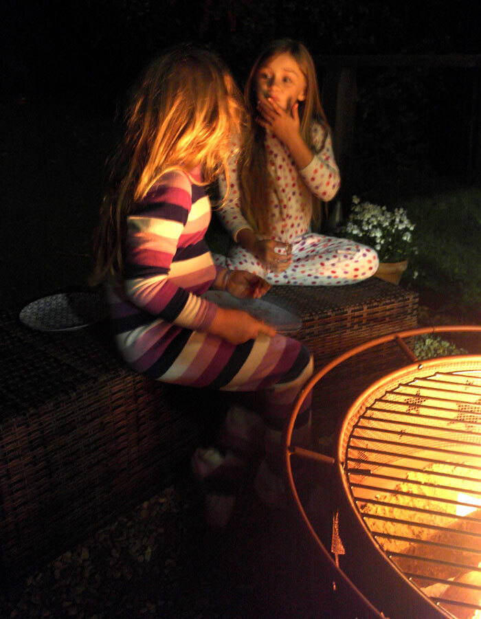 S'mores and Autumn campfires