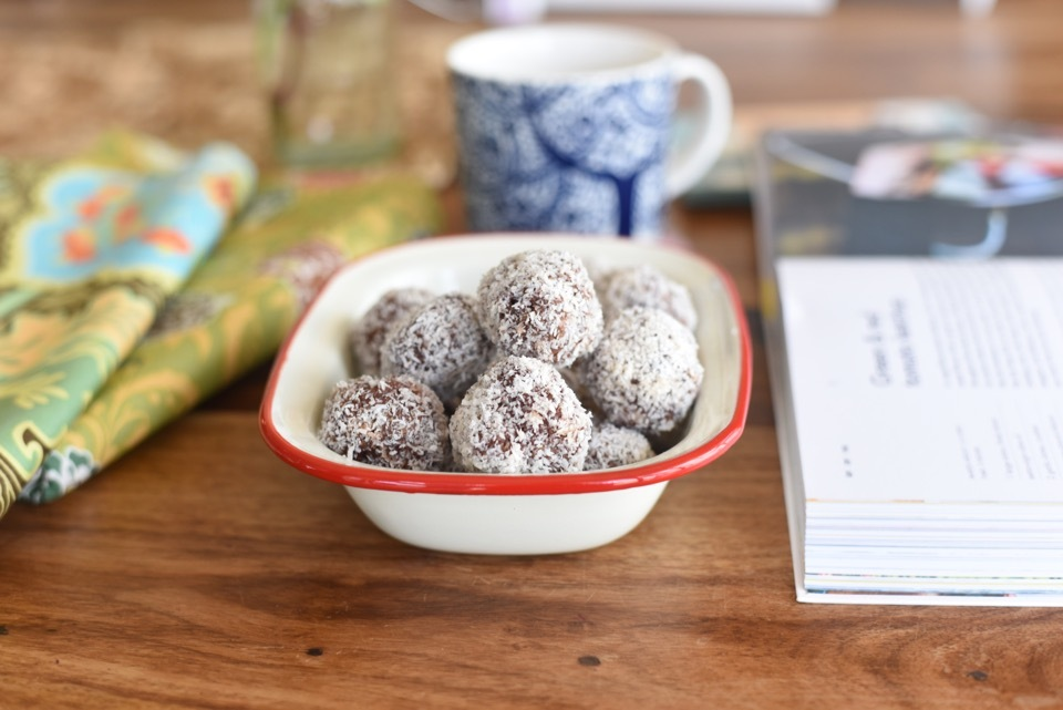 Thermomix Cherry Ripe Bliss Balls