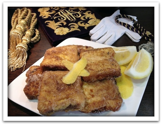 Torrijas de natillas