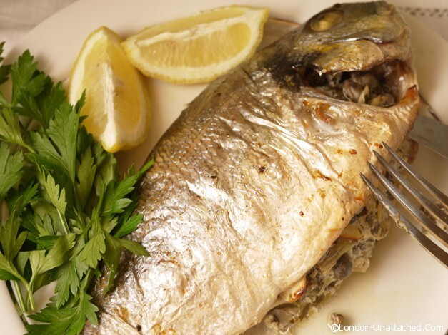 Greek Yoghurt Stuffed Sea Bream and the 5:2 Diet #TryTotal #spon