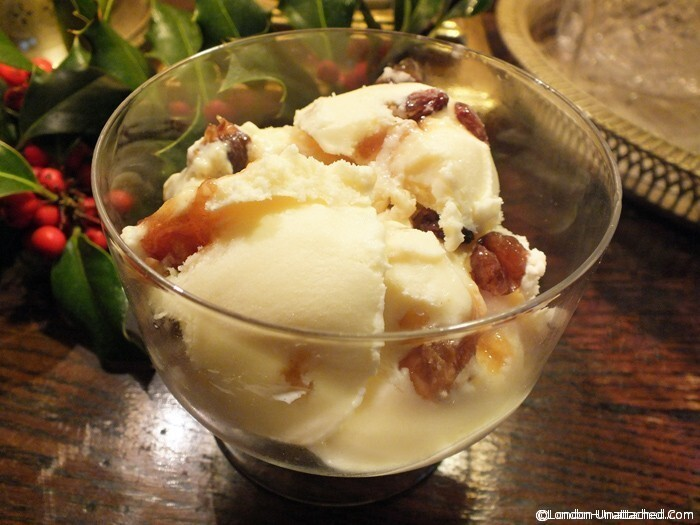 Christmas Ice Cream with Mincemeat and Advocaat