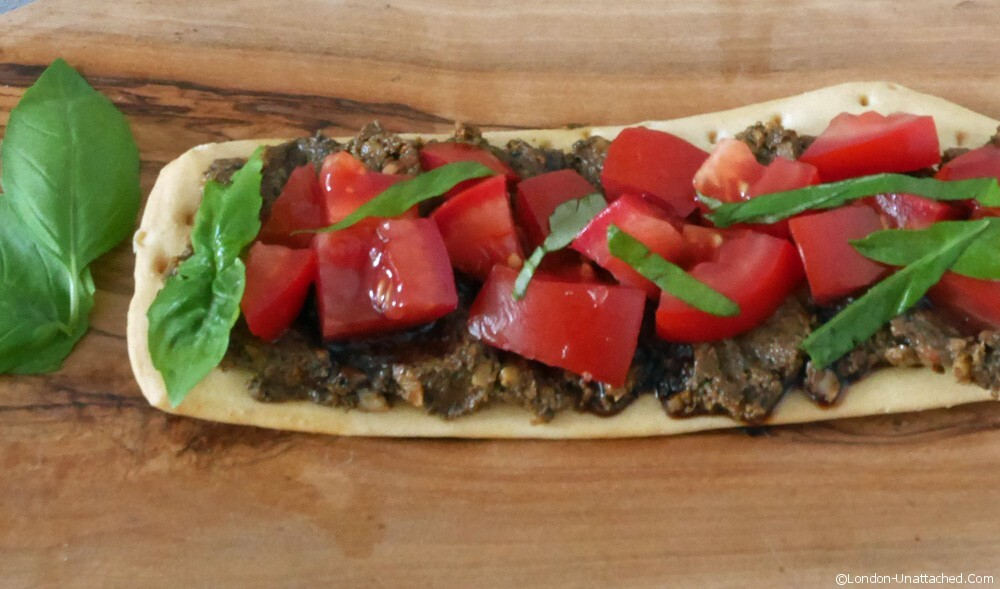 Vegetarian Tapenade – cut the anchovies, keep the taste