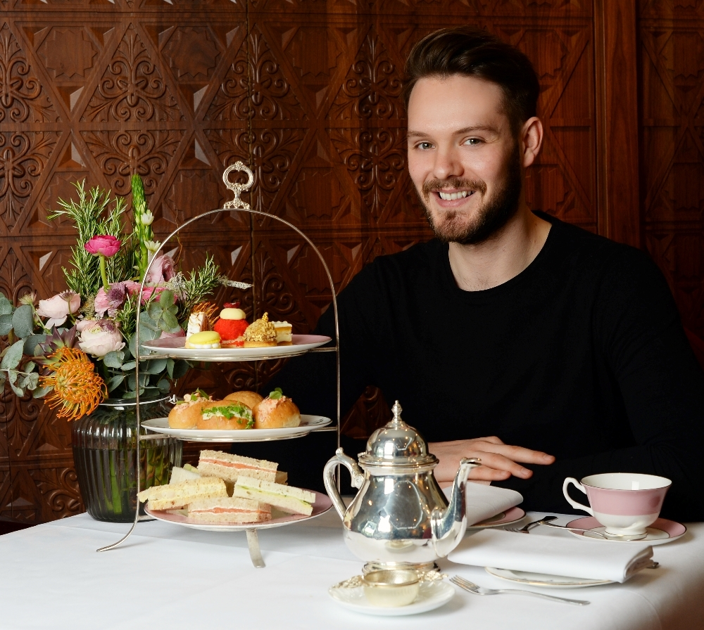 "John Whaite Launches ""A Right Royal Afternoon Tea"" and ""Perfect Plates In 5 Ingredients"" at The Royal Horseguards Hotel"