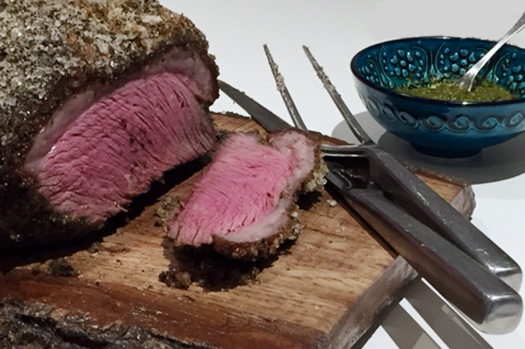 Masterchef Challenge – Picahna Beef Cap with Chimichurri
