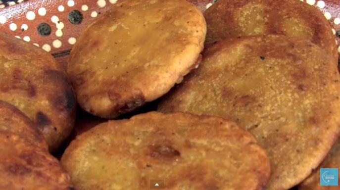Gorditas de piloncillo, video