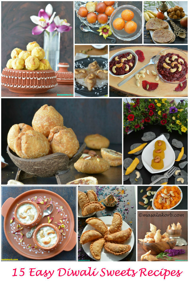 15 Easy Diwali Sweets Recipes