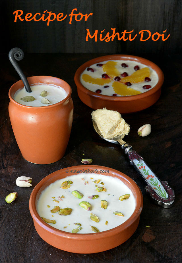 Recipe for Mishti Doi | Bengali Sweet Yoghurt | Meetha Dahi