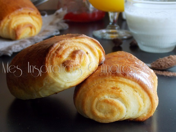 Petits pains au chocolat brioché {illusion}