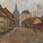 Oljemålning Karl Örbo (1890-1958)