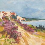 Oljemålning Axel Lind (1907-2011)